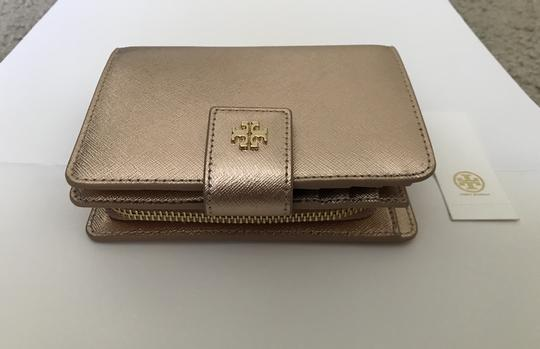 Tory Burch Robinson French Fold Wallet Saffiano Leather Image 3