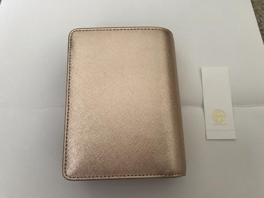 Tory Burch Robinson French Fold Wallet Saffiano Leather Image 7