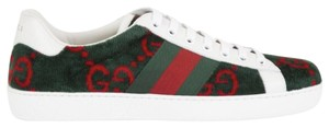 Gucci Gg Espadrille Double G Green Athletic