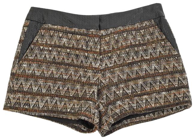 Item - Brown Faux Leather Shorts Size 2 (XS, 26)