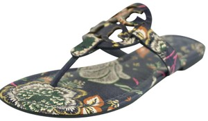 Tory Burch Stacked T Cut Out Multi Sandals