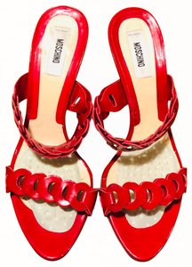 Moschino Red Sandals
