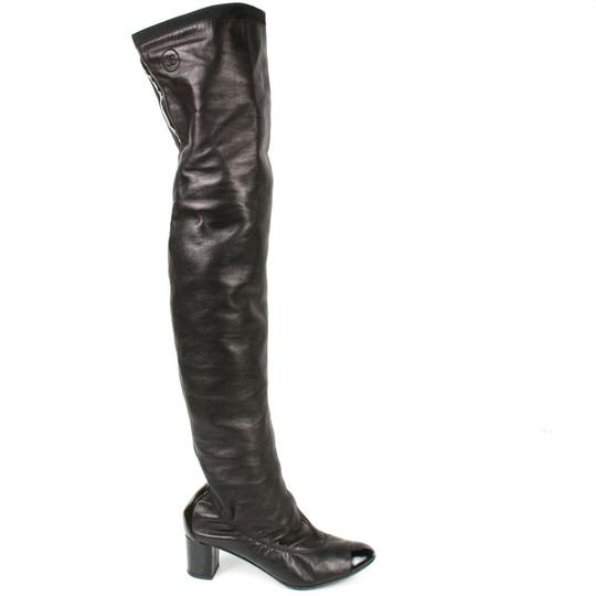 Chanel Black Boots Image 10