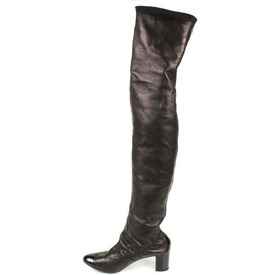 Chanel Black Boots Image 11