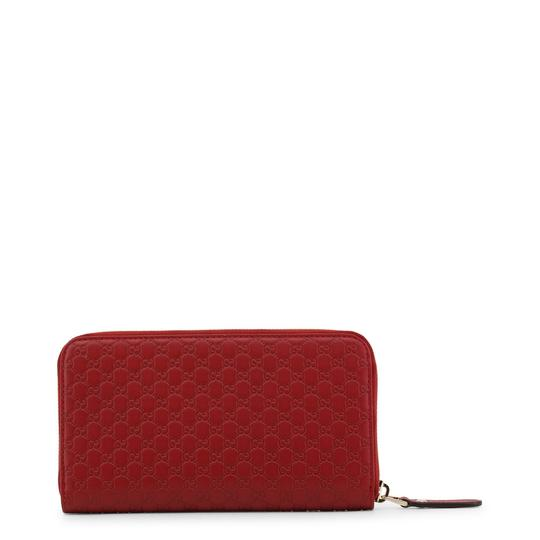Gucci Microguccissima red leather zip around wallet Image 2