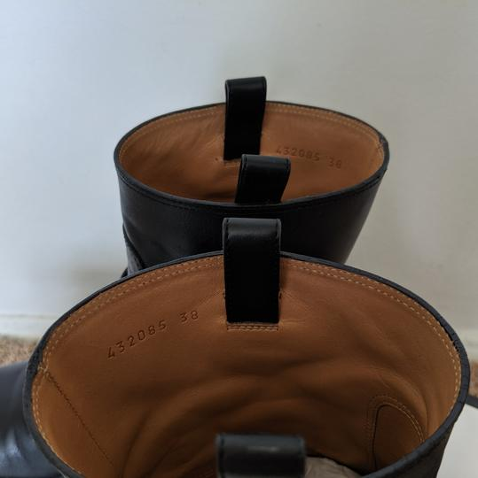 Gucci Dionysus Urban Chelsea Leather Black Boots Image 5