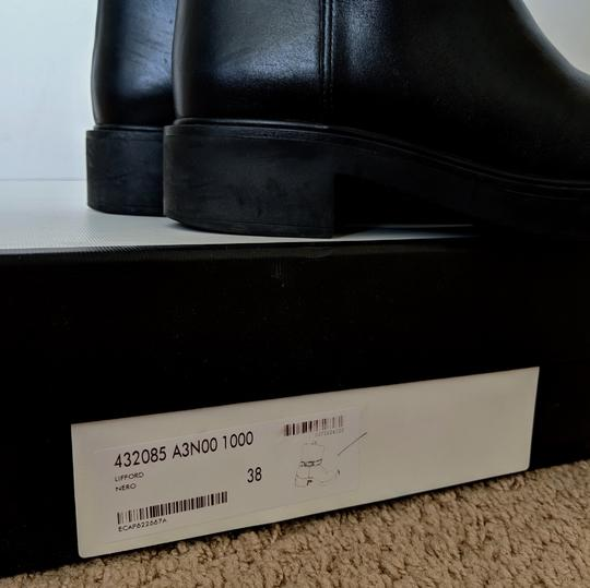 Gucci Dionysus Urban Chelsea Leather Black Boots Image 7