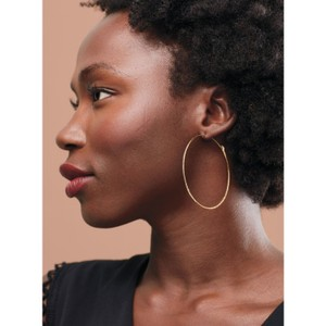 Stella & Dot Stella and Dot Hammered Hoops