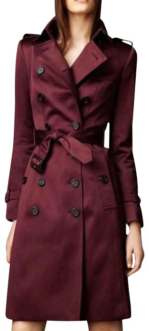 Preload https://img-static.tradesy.com/item/25912774/burberry-london-burgundy-wine-red-coat-size-4-s-0-1-650-650.jpg