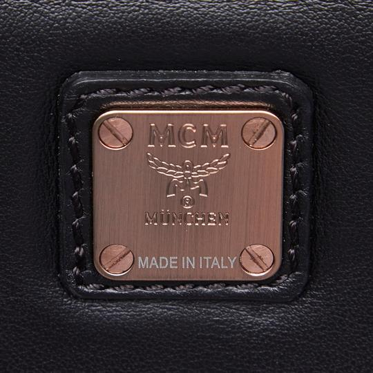 MCM 9hmccx002 Vintage Leather Cross Body Bag Image 5