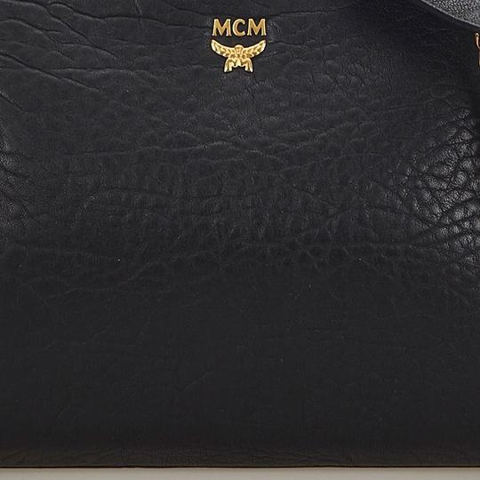 MCM 9hmccx002 Vintage Leather Cross Body Bag Image 8