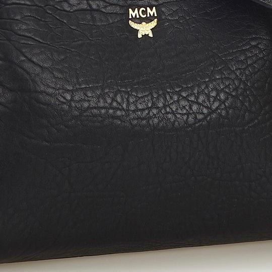 MCM 9hmccx002 Vintage Leather Cross Body Bag Image 9