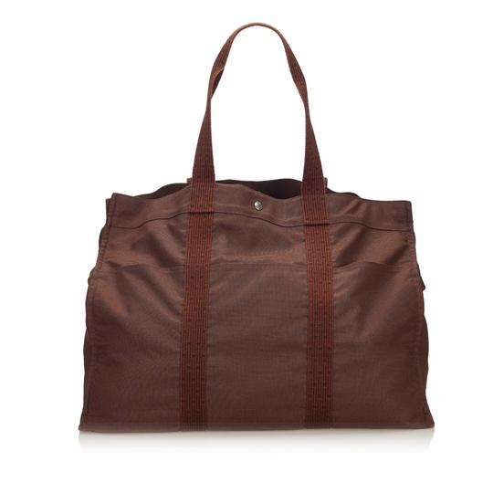 Preload https://img-static.tradesy.com/item/25912942/hermes-fourre-tout-fabric-tgm-france-large-brown-canvas-weekendtravel-bag-0-0-540-540.jpg