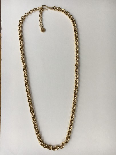 Givenchy Vintage Rolo Link Long Chain Image 1