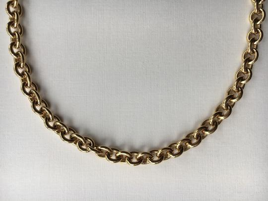 Givenchy Vintage Rolo Link Long Chain Image 11