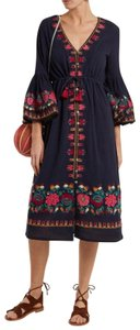 Navy Blue Maxi Dress by Figue