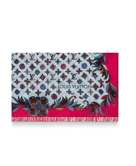 Louis Vuitton Louis VUITTON 100% WOOL SHAWL,SCARVE LIMITED EDITION, 2019 WINTER New Image 1
