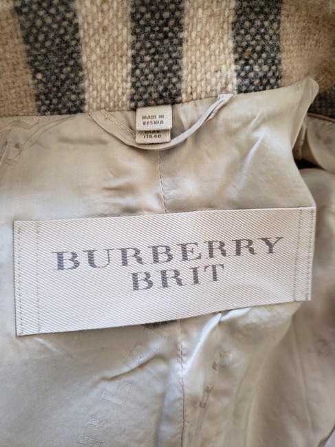 Burberry Nova Check House Check Plaid Silver Hardware Vintage Trench Coat Image 11