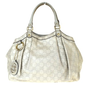 Gucci Made In Italy Tote in Off White
