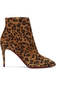 Christian Louboutin Eloise Suede leopard Boots