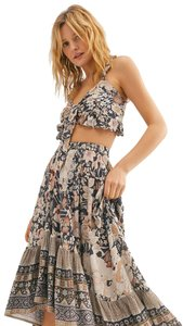 Grey Maxi Dress by Spell & the Gypsy Collective Floral Ruffle