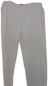Armani Jeans Relaxed Pants white