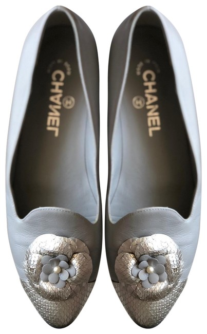 Item - Gray / Silver Flats Size US 9 Regular (M, B)