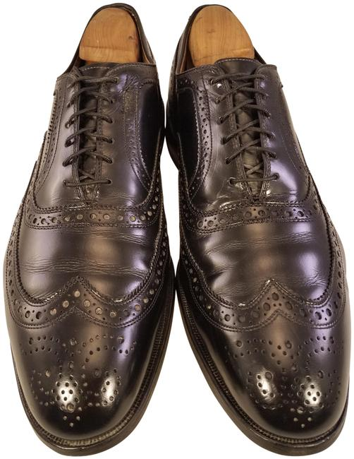 Item - Black Mcallister Man Oxfords Wingtip Brogue Formal Shoes Size US 11.5 Regular (M, B)