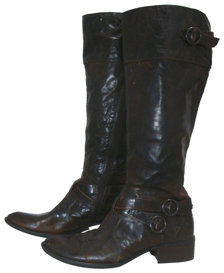 Preload https://img-static.tradesy.com/item/25914406/crown-by-born-distressed-tall-leather-with-buckles-bootsbooties-size-eu-40-approx-us-10-regular-m-b-0-2-540-540.jpg