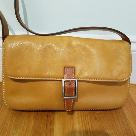 Preload https://item5.tradesy.com/images/ann-taylor-tan-faux-leather-shoulder-bag-25914414-0-0.jpg?width=440&height=440