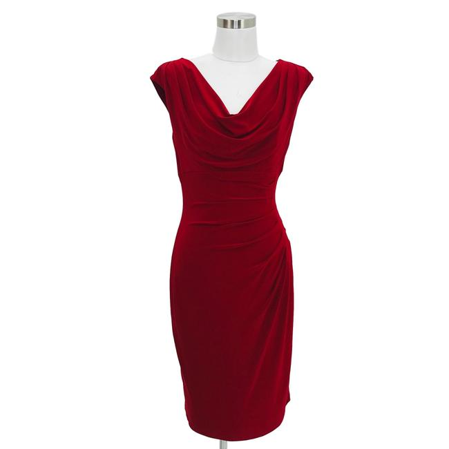 Preload https://img-static.tradesy.com/item/25914415/lauren-ralph-lauren-red-small-solid-career-bodycon-formal-mid-length-workoffice-dress-size-4-s-0-0-650-650.jpg