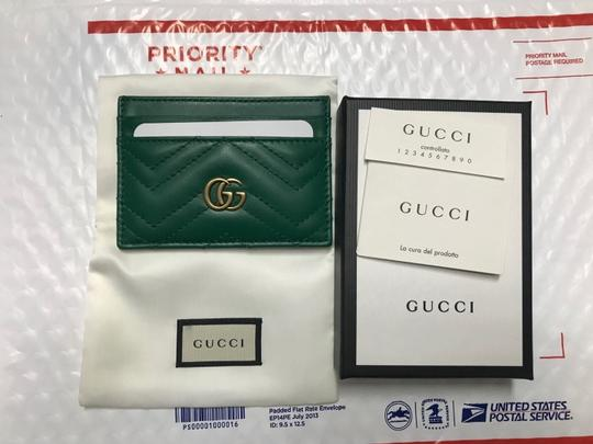 Gucci marmont quilted leather card holder Image 3