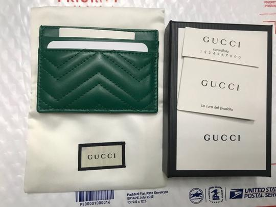 Gucci marmont quilted leather card holder Image 4