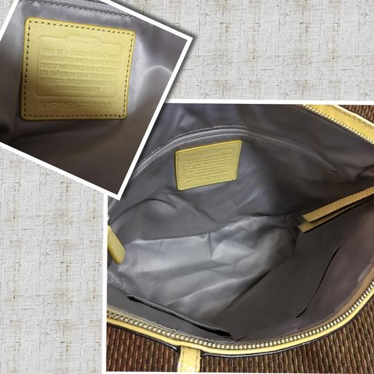 Coach Tote in Yellow Image 1