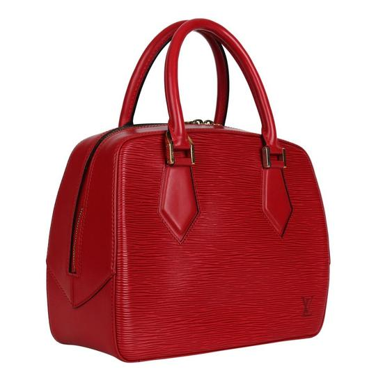 Preload https://img-static.tradesy.com/item/25914443/louis-vuitton-sablons-excellent-condition-handbag-7381-red-epi-leather-satchel-0-0-540-540.jpg