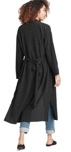 Eileen Fisher Future Is Female Crepe Weave Duster Kimono Duster Straight Styling Optional Belt Duster Cardigan