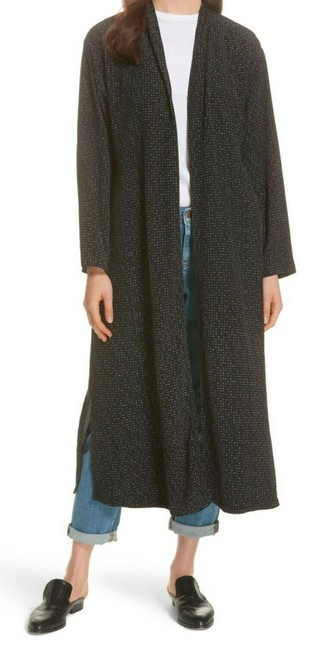 Eileen Fisher Future Is Female Crepe Weave Duster Kimono Duster Straight Styling Optional Belt Duster Cardigan Image 1