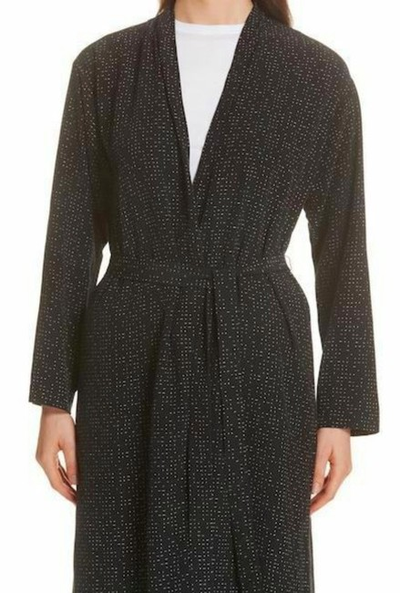 Eileen Fisher Future Is Female Crepe Weave Duster Kimono Duster Straight Styling Optional Belt Duster Cardigan Image 2