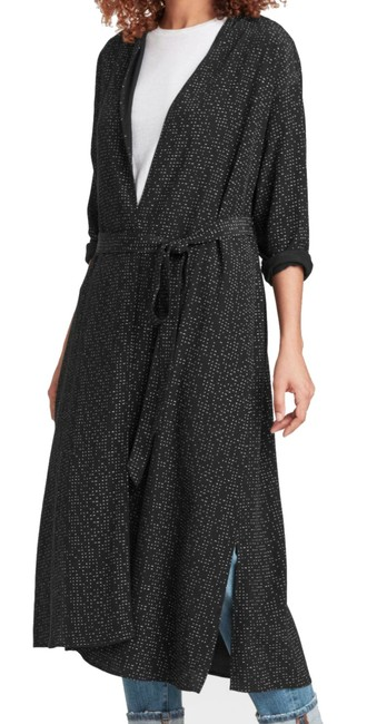 Eileen Fisher Future Is Female Crepe Weave Duster Kimono Duster Straight Styling Optional Belt Duster Cardigan Image 3