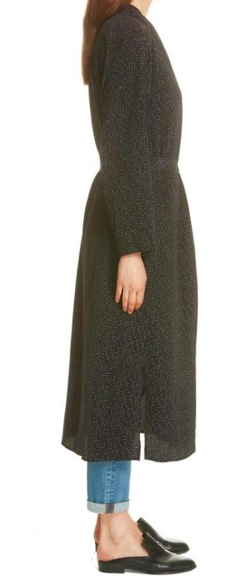Eileen Fisher Future Is Female Crepe Weave Duster Kimono Duster Straight Styling Optional Belt Duster Cardigan Image 4