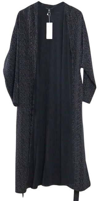 Eileen Fisher Future Is Female Crepe Weave Duster Kimono Duster Straight Styling Optional Belt Duster Cardigan Image 6