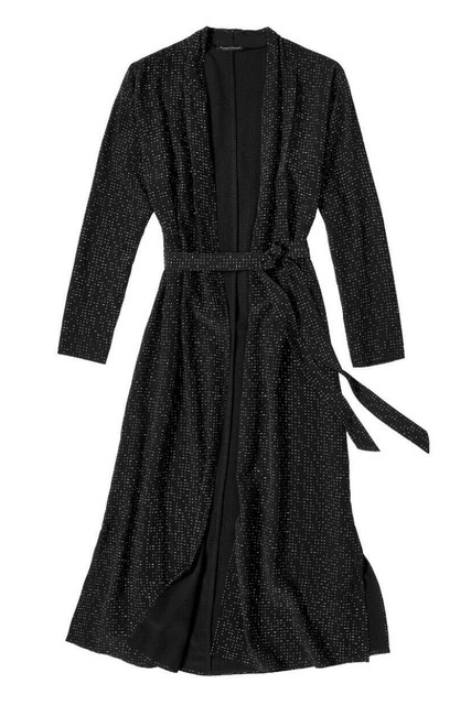Eileen Fisher Future Is Female Crepe Weave Duster Kimono Duster Straight Styling Optional Belt Duster Cardigan Image 7