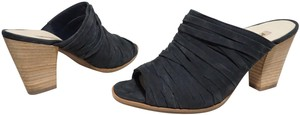 Paul Green Strappy Comfortable Blue Mules