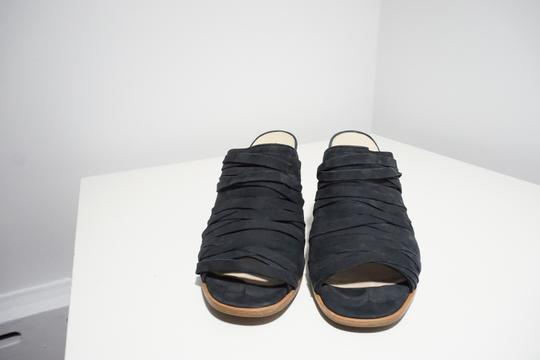 Paul Green Strappy Comfortable Blue Mules Image 4