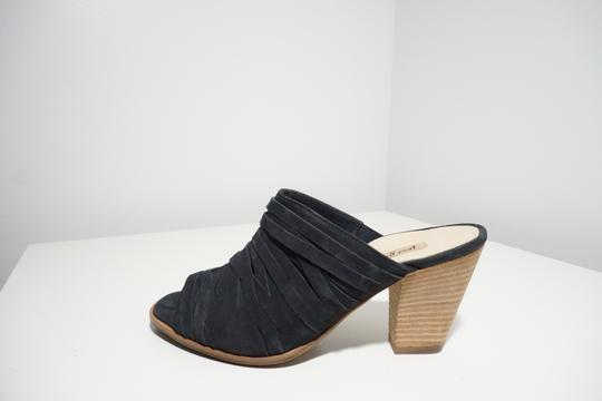 Paul Green Strappy Comfortable Blue Mules Image 5