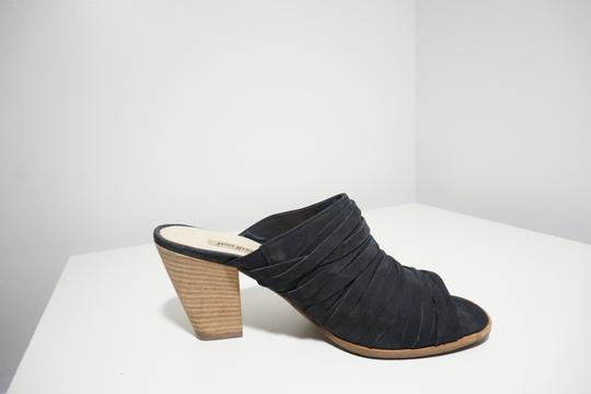 Paul Green Strappy Comfortable Blue Mules Image 6