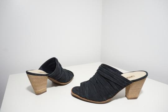 Paul Green Strappy Comfortable Blue Mules Image 7