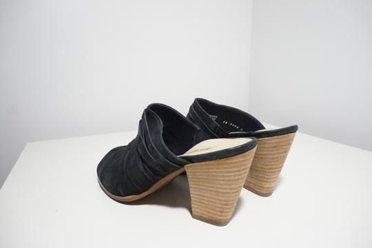 Paul Green Strappy Comfortable Blue Mules Image 8