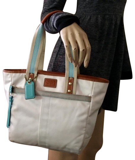 Coach Tote in White Image 0