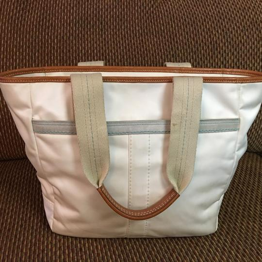 Coach Tote in White Image 10